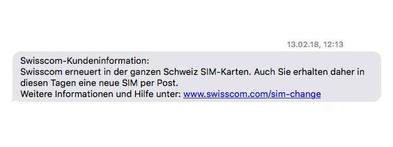 Neue Sim Karte.Neue Sim Karten Fur Swisscom Kunden Noerdli